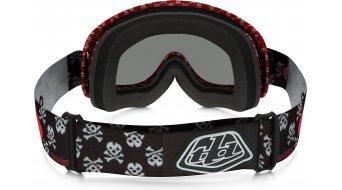 Oakley XS O Frame Mx Goggle skullbone red/dark grey