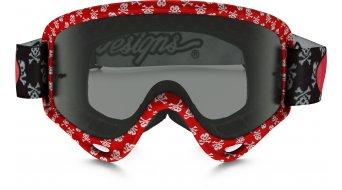 Oakley XS sin Frame MX Goggle skullbone rojo/dark grey