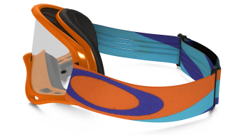 Oakley XS O Frame MX Goggle heritage racer orange/clear