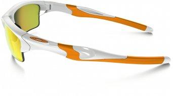 Oakley Half Jacket 2.0 XL Brille polished white/fire iridium