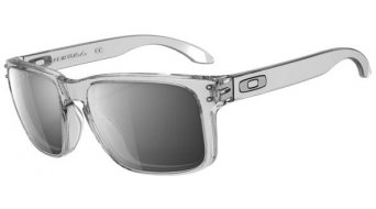 Oakley Holbrook Brille clear/chrome iridium