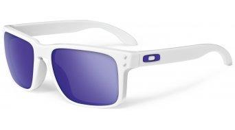 Oakley Holbrook Brille matte white/violet iridium