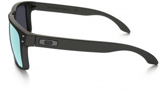 Oakley Holbrook Brille matte black/emerald iridium polarized