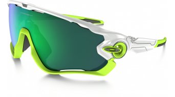 Oakley Jawbreaker Brille polished white/jade iridium