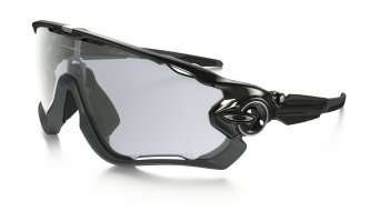 Oakley Jawbreaker Brille polished black/clear black iridium photochromic
