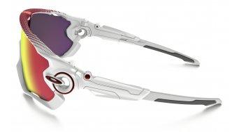 Oakley Jawbreaker Brille polished white/prizm road - Tour de France Collection