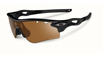 Oakley Radarlock Path gafas polished negro/bronze polarized vented & deep azul polarized vented