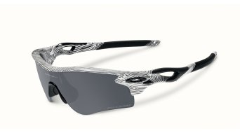 Oakley Radarlock Path Brille polished white/black iridium polarized & clear