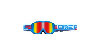 ONeal B1 RL Flat Radium Goggle blau Mod. 2016