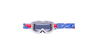 ONeal B1 RL Flat Goggle weiss Mod. 2016