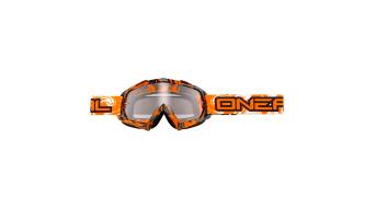 ONeal B-Flex Hendrix Goggle schwarz/orange Mod. 2017