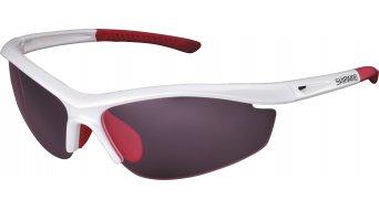 Shimano CE-S20R lunettes de vélo métallique white inkl. 2 lentille (rose/clear)
