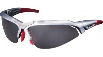 Shimano CE-S60R-PH lunettes de vélo shiny argent métallique inkl. 2 lentille (photocromic grey/clear)