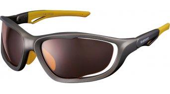 Shimano CE-S60X lunettes de vélo bronze inkl. 3 lentille (orange/marron mirror/clear)