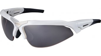 Shimano CE-S60R-PH lunettes de vélo métallique white inkl. 2 lentille (photochromic grey/clear)