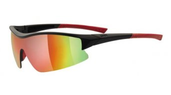 Uvex Sportstyle 103 Brille Changeable Lens black mat/red/mirror red