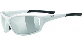Uvex Sportstyle 210 gafas blanco negro/litemirror gris