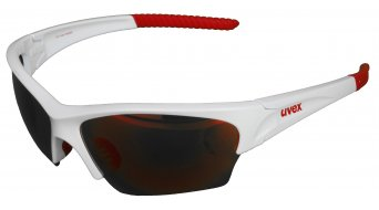 Uvex Sunsation gafas blanco rojo/mirror rojo