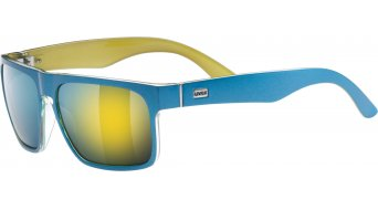 Uvex LGL 19 Brille Lifestyle-Brille blue met/mirror yellow