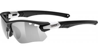 Uvex Sportstyle 109 gafas Changeable Lens negro mat/gris/litemirror gris