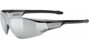 Uvex Sportstyle 218 gafas negro/mirror gris
