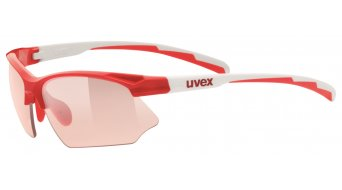 Uvex Sportstyle 802 Vario occhiali red white/red
