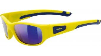Uvex Sportstyle 506 Brille Junior / Kids yellow/mirror blue