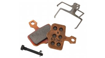 Avid Elixir/XX/X0 Scheibenbremsbelag Metal-Sintered-Stahl-Trägerplatte