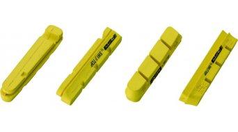 FSA Bremsbeläge für Carbonfelgen Campagnolo-kompatibel gelb (2 Paar)