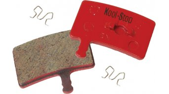 Kool-Stop Disc-pastiglie freni per Hayes Stroker acciaio-Rückplatte/pastiglia- organiche D250
