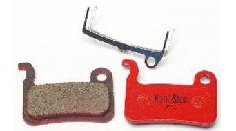 Kool-Stop Disc-Bremsbeläge für Shimano XTR BR-M975 & BR-M965/966, XT BR-M765 Stahl-Rückplatte/Belag-organisch D630