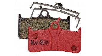 Kool-Stop Disc-pastillas de freno para Shimano XT BR-M755, Hope M4 desde 2005 & Grimeca sistema 8 acero-placa trasera/capa-orgánico(-a) D600
