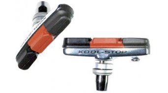Kool-Stop Cross rosca zapatas de freno color plata, para Cantilever frenos, Triple Compound