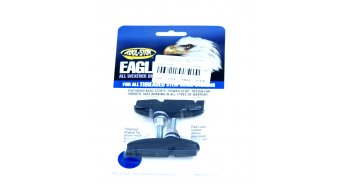 Kool-Stop Eagleclaw2 con filetto nero per Cantilever freni, 1 paio