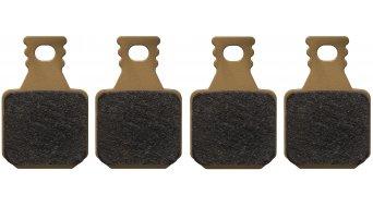 Magura pastilla de freno 8.R para MT-freno de disco 4 piston(-es) incl. tornillo fijador de zapata (4 Einzelbeläge)- Race