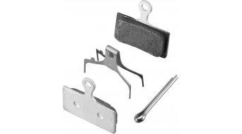 Shimano Disc Bremsbeläge G01T Metall mit Feder und Splint für XTR, XT, SLX