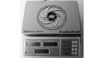 Formula disco de freno de una pieza 160mm Centerlock