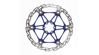 Hope Mono Mini/M4/V4 disco dentado de freno 183mm 6 agujeros floating azul Spider- MODELO DE DEMONSTRACIÓN tornillos y embalaje original fehlen