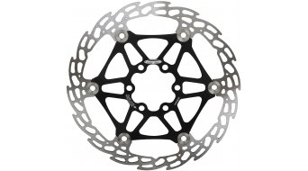 Hope Race X2 Lightweight rotor 6-hole floating black Spider