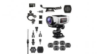 Garmin VIRB Elite Full HD Wintersport Bundle Kamera