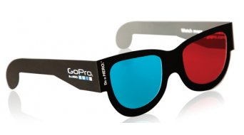 GoPro 3D 眼镜 (红色/蓝色) (5个.)