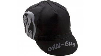 All City AC Shield Cycling Cap black šedý/á/é