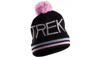 Bontrager Trek Vintage Turnback Pom Mütze Beanie Gr. unisize black/pink