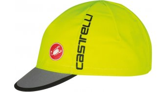 Castelli Free Kappe Cycling Cap Gr. unisize yellow fluo/anthracite