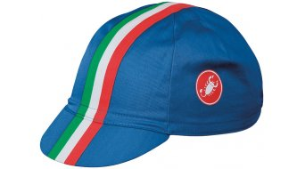 Castelli Retro 2 gorro(-a) Cycling Cap tamaño unisize drive azul