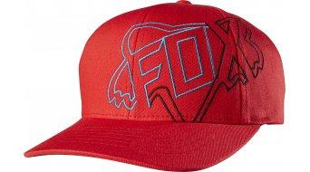 Fox Both Sides gorro(-a) niños-gorro(-a) Kids Flexfit Hat tamaño unisize rojo
