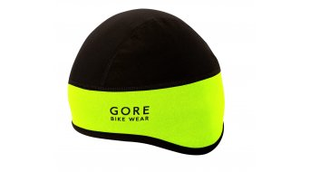 Gore Bike Wear universale berretto-sottocasco WINDSTOPPER Soft Shell mis. 54-58cm neon yellow/black
