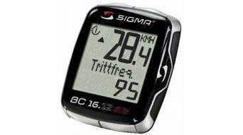 Sigma Sport Computer BC 16.12 STS CAD Topline schwarz/silber