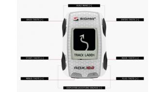 Sigma sport computer rox 10 0 gps set ant bianco
