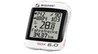 Sigma Sport Computer ROX 6.0 CAD blanco(-a)